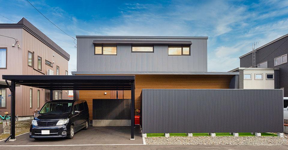 2018年秋に完成した札幌のトップランナー住宅
