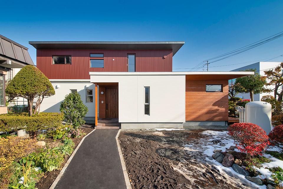 拓友建設が札幌で施工したトップランナー住宅
