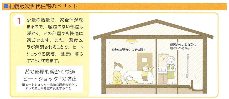 札幌版次世代住宅のメリット